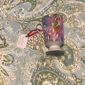 Lilly Pulitzer ceramic sparkling sands mug